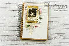 3D Art Journal pages | Lindy's Stamp Gang