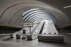The Tube, Canary Wharf, London