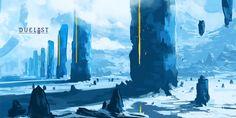 Sky Pillars, Northern Celandine