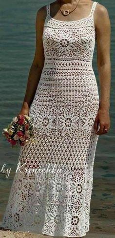 Diy Crafts - DIY & crafts projects, contents and more - Diy Crafts Diy Crafts 507217976784113167 P Crochet Vest Pattern, Crochet Jacket, Thread Crochet, Filet Crochet, Baby Dress Tutorials, Crochet Wedding Dresses, Crochet Towel, Lace Bolero, Crochet Clothes