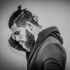 Best Mens Fade Hairstyles  I'm becoming a fan of beards...
