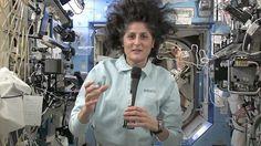 Bad hair day or zero gravity?! :)