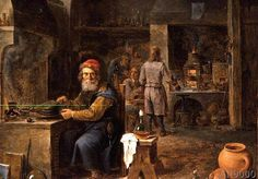 David Teniers der Jüngere - The Alchemist