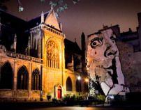 Rue du Cloître Saint-Merri, Centre Pompidou  Paris et moi by Barbara Desiderato, via Behance