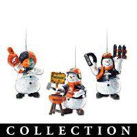 Denver Broncos Coolest Fans Ornament Collection