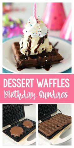 Dessert Waffles-A Fu