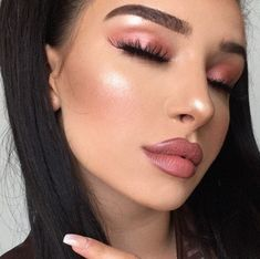 Ideas for nails matte spring eye makeup Simple Eye Makeup, Love Makeup, Makeup Inspo, Makeup Inspiration, Makeup Style, Nail Inspo, Makeup Goals, Makeup Tips, Beauty Makeup