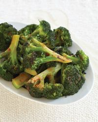 Broccoli with Hot Sauce Recipe from Food & Wine