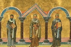 MYSTAGOGY: Holy Hieromartyrs Markellos of Sicily, Philagrios of Cyprus and Pankratios of Taormina