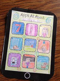 Simply Second Grade Back to school getting to know students activity - lovely idea