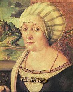 Ritratto di Felicita Tucher. 1499. Olio su tavola. 28x24 Schlossmuseum Kassel