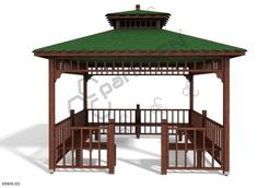 Gazebo, Outdoor Structures, Kiosk, Cabana