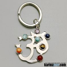 OM Mantra Key Ring.                     Keychains, Reiki Healing Chakra Gemstone Keyrings| #OM #AUM #Keychains #Keyrings #Charm #Mens #Good #Lucky #womens #Jewelry #CrystalsEnergy #gifts #Chakra #reiki #Healing #Kundalini #Law #Attraction #LOA #Love #Mantra #Mala #Meditation #prayer #mindfulness #wisdom #CrystalEnergy #Spiritual #Gifts #Mommy #Blog #friendship #Stacks #Lucky #ValentinesDay #Valentine #Valentines #Fertility #Tony #Robbins #Eckhart #Tolle