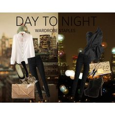 """""""Day to Night in the City"""" by breakingdawn460 on Polyvore"""