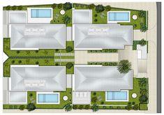 Condomínio Bauhaus,Implantação