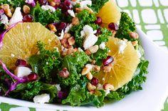 Citrus Kale Salad - Hello HealthyHello Healthy