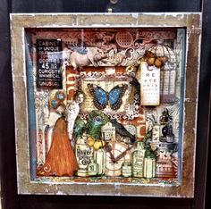 NEW Graphic 45 CHA - Olde Curiosity Shoppe Shadow Box - Scrapbook.com