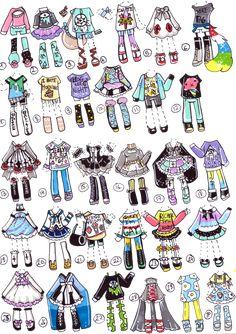 CLOSED-ClothesAdopts by Guppie-Adopts.deviantart.com on @DeviantArt
