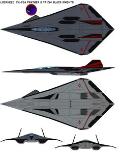Xf-70  Panther 2 VF-154 by bagera3005.deviantart.com on @DeviantArt