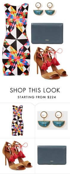 """Untitled #326"" by marshmellowww ❤ liked on Polyvore featuring Mara Hoffman, Malone Souliers and Chloé"