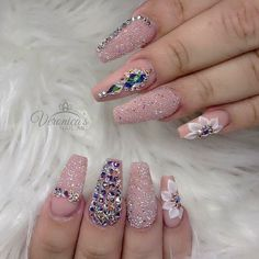 You've probably noticed a movement toward bare-ish nails lately. (Call it the anti-nail art, if you will.) The 2 of the biggest nail trends to emerge from the Spring/ Summer 2018 runway shows are the graphic art and matte metallic nails. Glam Nails, Bling Nails, 3d Nails, Love Nails, Beauty Nails, Coffin Nails, Sparkly Nails, Metallic Nails, Matte Nails