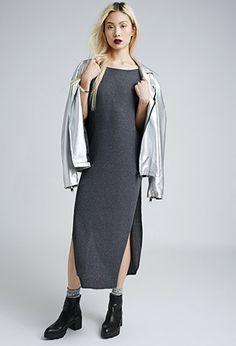 Ribbed Dolman Maxi Dress | FOREVER21 - 2000053198