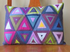 Pie Lady Quilts: Radiant Triangles