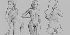 Figure Drawing on Behance