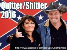 Political Memes: The Tea Party Dream Team: Sarah Palin - Ted Nugent 2016