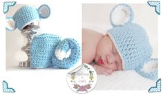 Our Light Blue Monkey photography prop used in this newborn shoot.