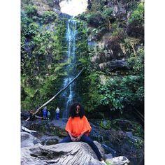 Waterfalls in Great Ocean Road  #erskinefalls #lorne #greatoceanroad #melbourne #victoria #explore #travel #travelnoire #enjoy #nature #landscape #trekking #roadtrip #australia #aussielife by grace.zlk