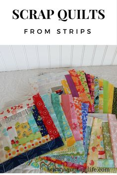 Hello! As I've previously mentioned, this year I'm focusing on sewing with my stash, and for me that means making scrap quilts! My long-term...