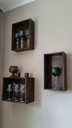 Aufgehübschte Weinkisten