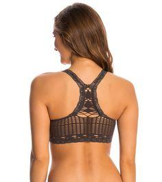 Free People Crochet Racerback Bra at YogaOutlet.com – The Web's most popular yoga shop