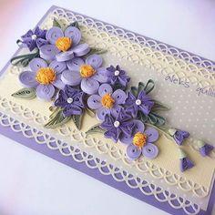 #quillingcreations #quillingcards #quillingcraft #quillingflowers #aleksquilling #paperart #handmadeflower #handmadecards #квиллинготкрытка #квиллингцветы
