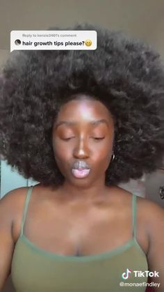 Natural Hair Growth Tips, Hair Mask For Growth, Natural Hair Styles, Curly Hair Tips, 4c Hair, Curly Hair Styles, Protective Hairstyles, Braided Hairstyles, Hair Growing Tips