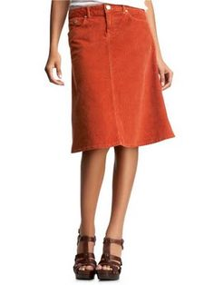 Abby's corduroy skirt