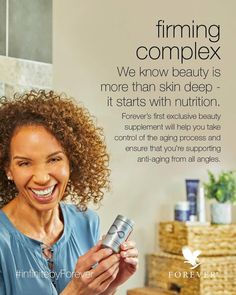 Beauty starts from within! 2 tablets of infinite by Forever firming complex will help ensure that you're supporting anti-aging from all angles! Anti Aging Skin Care, Natural Skin Care, Forever Business, Forever Living Products, Aging Process, Healthy Skin, Feel Better, Whitening, Skin Care Tips