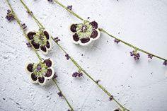 turkish lace  needle lace  crochet  oya necklace  by beyhan1972, $44.00
