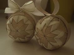 Falošný patchwork – vianočné gule | Marrci blog