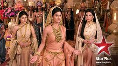 From left to right : Ambika, Satyavati, Ambalika Pooja Sharma, Indian Show, The Mahabharata, Cool Paper Crafts, Bengali Wedding, Episode Online, Traditional Dresses, Suits For Women, Favorite Tv Shows