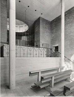 Kapel Karmelietessen in Haaren (1956-58): Architect: Jos Bedaux.