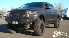 2012 Toyota Tundra With A Westin Automotive Max Winch Mount Plate With Stainless Bull Bar And