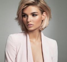 Best Bob Hairstyles & Haircuts for Women - Hairstyles Trends Short Hairstyles For Women, Cool Hairstyles, Hairstyle Ideas, Hair Ideas, Blonde Bob Hairstyles, Hairstyles Pictures, Short Hair Cuts For Women Bob, Hairdos For Short Hair, Hair Colors