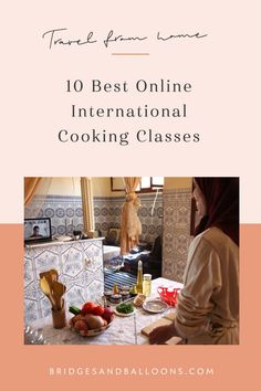 Learn how to make Swedish pastries, Mexican salsas, Portugeuse tapas and more live from their home countries. The best international online cooking classes. Online Cooking Classes, Baking Classes, Travel Tips, Travel Guides, Travel Articles, Budget Travel, Food Inspiration, Travel Inspiration, Virtual Travel