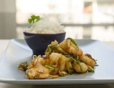 A quick and tasty recipe that will fill you up from our friends at the Seafood School at Billingsgate Market. Prawn Fish, Fish And Seafood, Shrimp, Prawn Recipes, Fish Recipes, China Cook, The Dish, Wok, Stir Fry
