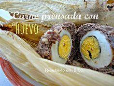 Reciclando con Erika : Carne prensada con huevo Una deliciosa recet...
