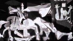 Picasso - La vida, las obras / Guernica (Dura 1min 23seg **Breve, informativo y fácil para comprender**)