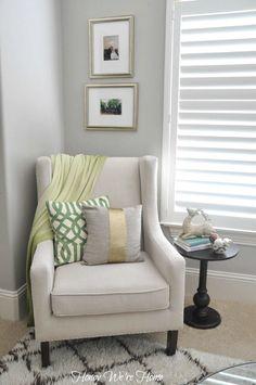Adding easy Christmas decor to your home via Honey We're Home