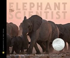 """The Elephant Scientist (Scientists in the Field Series)"" by Caitlin O'Connell is an informational text. This would be great for students to use if researching elephants or a related topic. There are many bright vivid pictures that go along nicely with the text, and text is divided into categories based on topic."